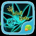 (FREE) GO SMS WEED RASTA THEME icon