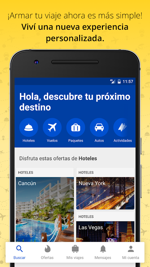 Despegar.com Hoteles y Vuelos- screenshot