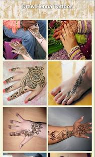 Kreslit Henna tetování - náhled