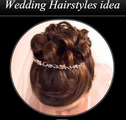 婚礼发型的想法
