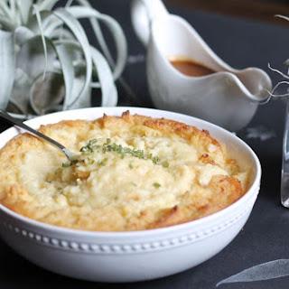 Roasted Garlic, Parmesan, Brown Butter Mashed Potatoes