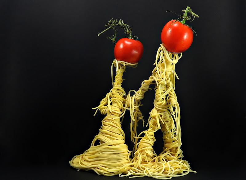 Spaghetti al pomodoro di Yoyo