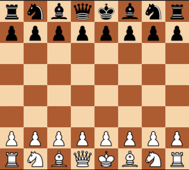 Расположение шахмат картинка