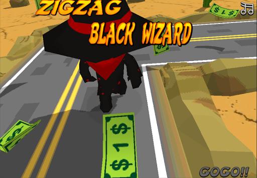 Zig Zag Black Wizard