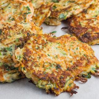 Zucchini & Sweet Potato Fritters Recipe