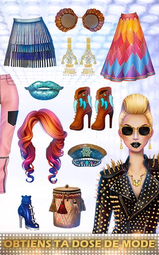 Télécharger Gratuit Jeux de Mode en vogue & Styliste pour des filles APK MOD (Astuce) screenshots 3