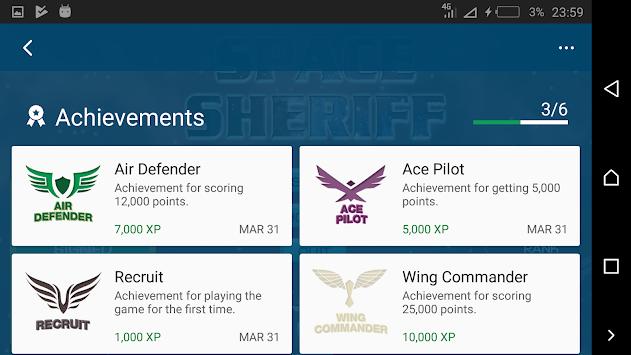 Space Sheriff apk screenshot