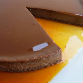 Mexican Chocolate Flan.