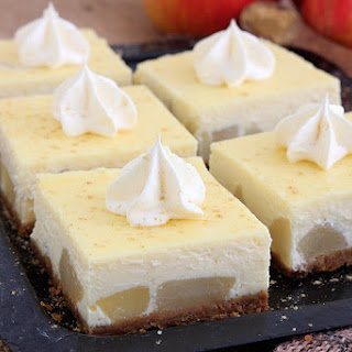 Pear Cheesecake With Gingersnap Crust.