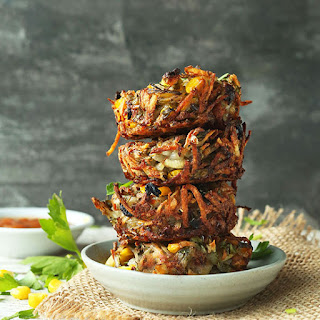 Crispy Hash Brown Haystacks.