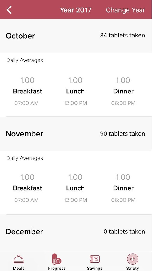Lomaira - Daily Dose Tracker- screenshot