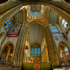 Bury st edmunds cathedral. by Barry Jones - Buildings & Architecture Places of Worship ( bury st edmunds, cathedral, hdr,  )