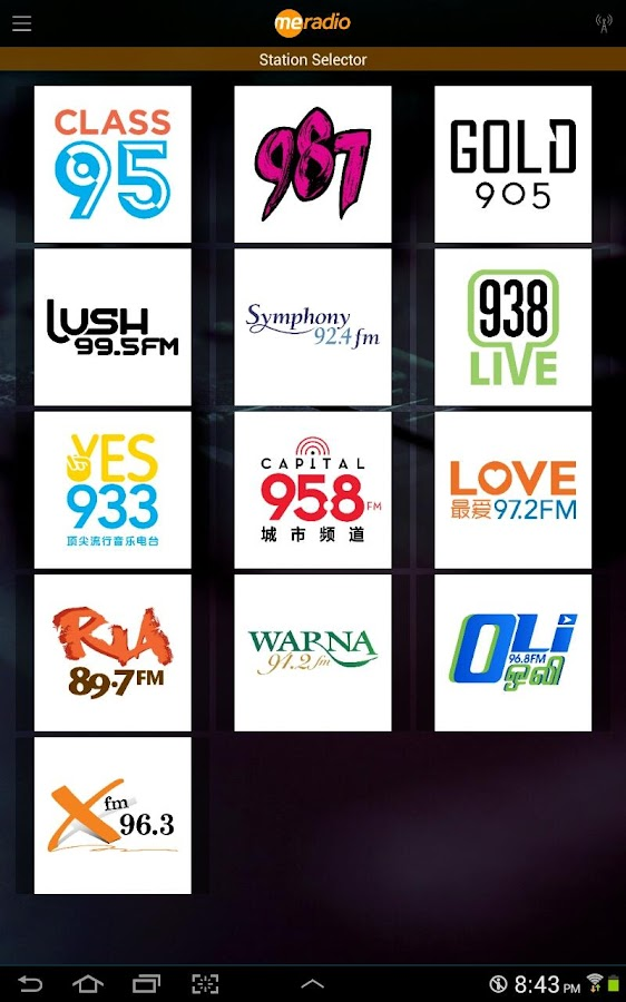 MeRadio – Singapore Radio Live- screenshot