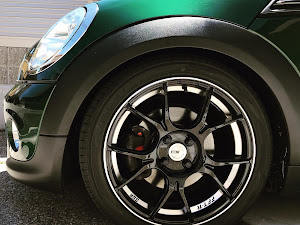 MINI Coupe  2012年式 R56 COOPER 後期のホイールのカスタム事例画像 MROKD714さんの2019年01月03日15:15の投稿
