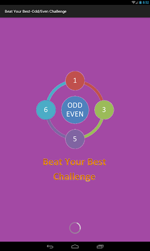 Beat Your Best- Odd Even