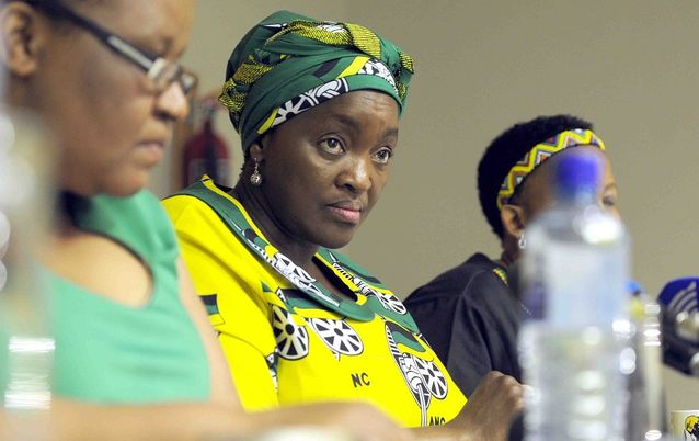 Former minister of social development Bathabile Dlamini. Picture: THULANI MBELE