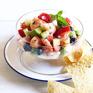 Mixed Berry Ceviche.