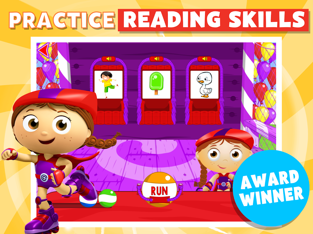 Super Why! Phonics Fair- screenshot