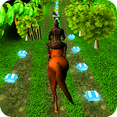 Jungle Horse Runner 3D