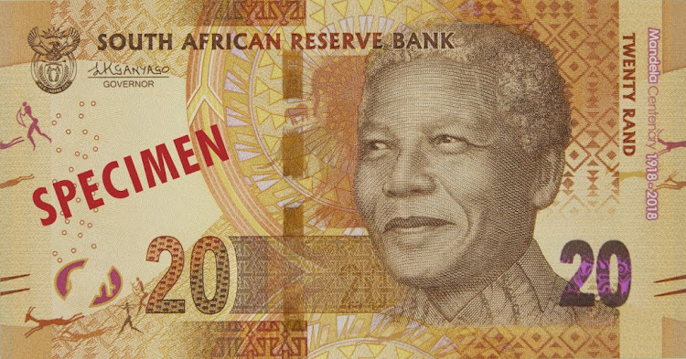 R20 is now officially the national minimum wage. Picture: THE SOUTH AFRICAN RESERVE BANK/themadibainme.co.za