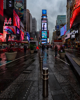 Atmosfera a Time Square di Luca160