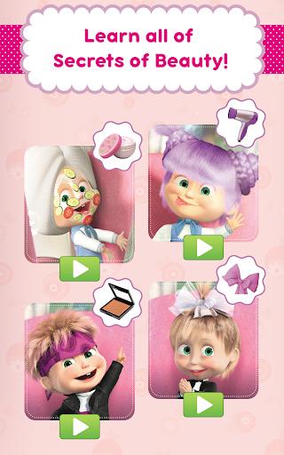 Masha and the Bear: Hair Salon and MakeUp Games 1.0.7 screenshots 12