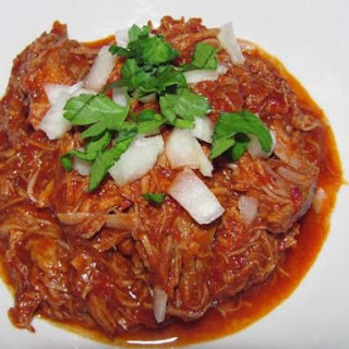 Slow Cooker Pork Adobado.