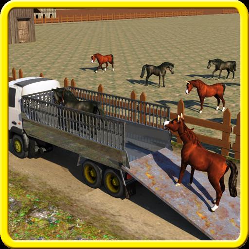 Horse Transport Cargo Truck