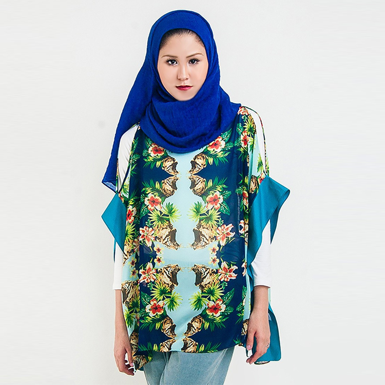 Kaleidoscope Tropical Overlay by Hijab Le Modesty