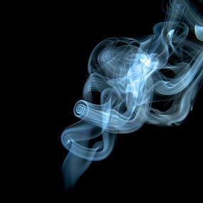 Smoke  by Savio Joanes - Abstract Patterns