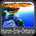 Huron-Erie-Ontario Lakes GPS icon