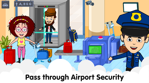 My Airport Town: Kids City Airplane Games for Free Apk 2