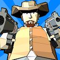 Zombie killer Deadland cowboy icon
