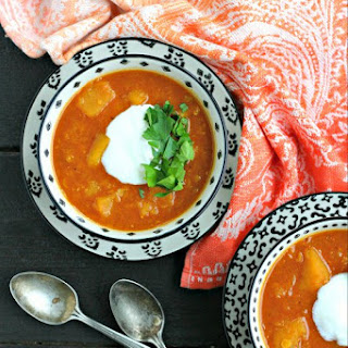 Instant Pot Red Lentil Soup with Butternut Squash Recipe