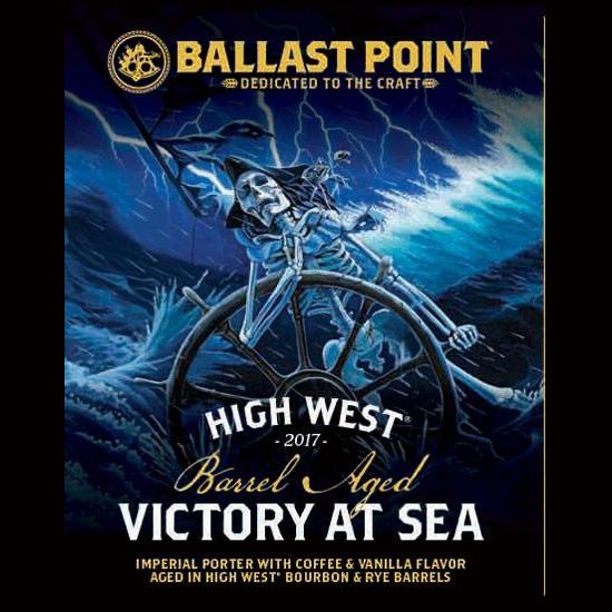 Logo of Ballast Point High West Barrel Aged Victory At Sea 2017