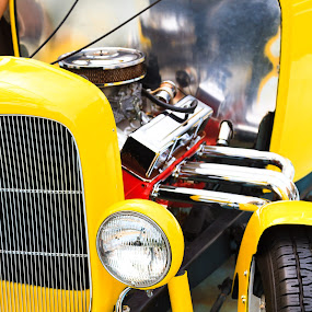 Hot Rod by Ray Shiu - Transportation Automobiles ( car, universal studios, transportation, singapore, HOT ROD, SPORTS CAR, TRUCK, RACECAR )