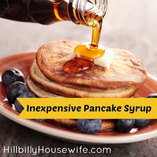 Flavored Pancake Syrup Recipes.
