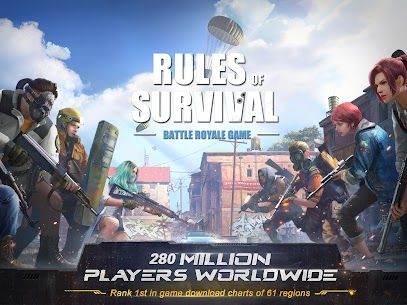 RULES OF SURVIVAL App Download For Android and iPhone 8
