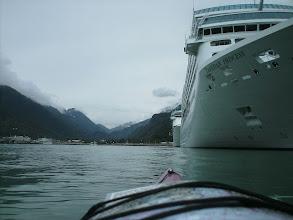 Photo: Cruise ships in Skagway.