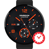 Mandarine watchface by Brandon