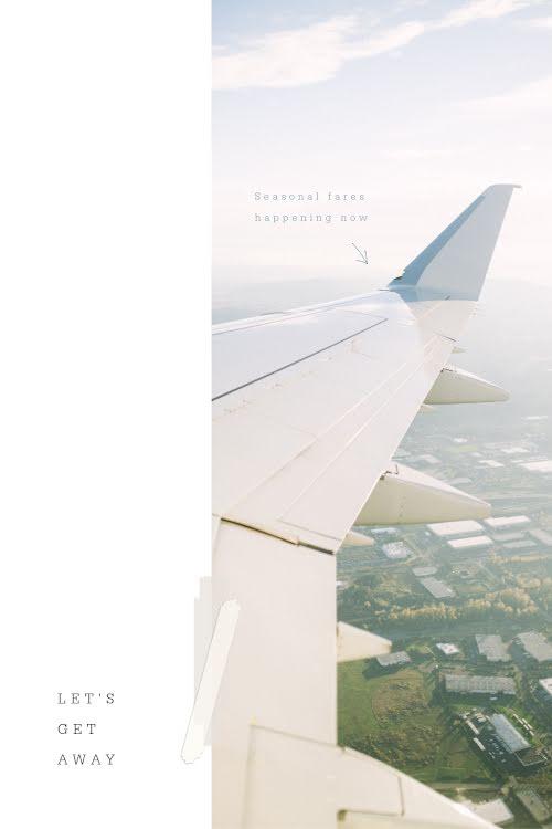 Tape Accent Flight - Pinterest Pin Template