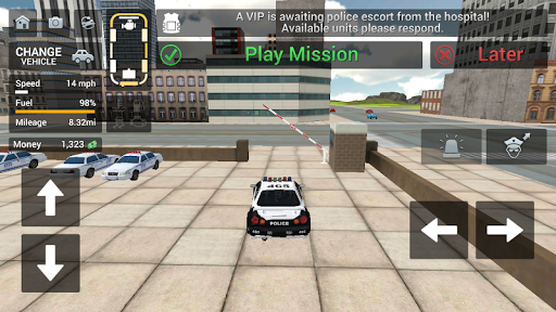 Cop Duty Police Car Simulator screenshots 4