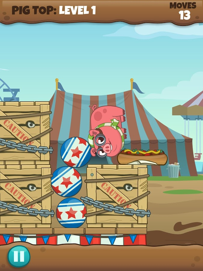 Adventure Pig- screenshot
