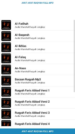 Download Ayat Ruqyah Pengusir Jin MP3 -Pendinding Diri