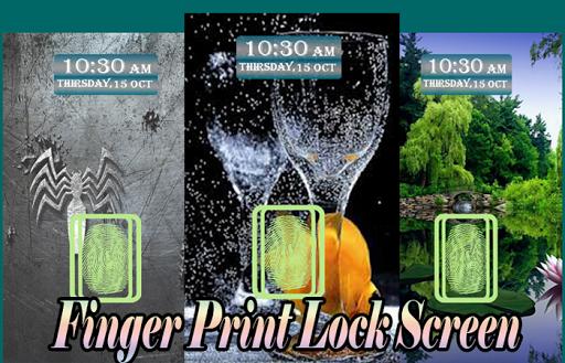 Fingerprint Screen Lock Prank