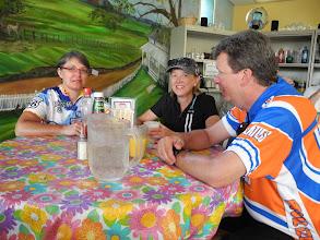 Photo: Susan, Christine, and Doug