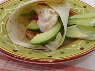 Grilled Fish Tacos W/ Chipotle Crema Recipe