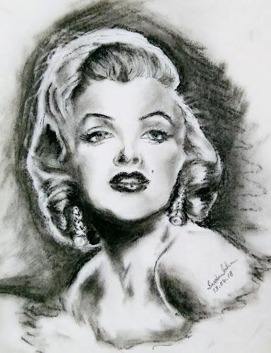 Marilyn Monroe by Tutul Saha - Painting All Painting