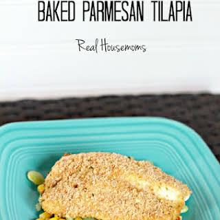 Baked Parmesan Tilapia.