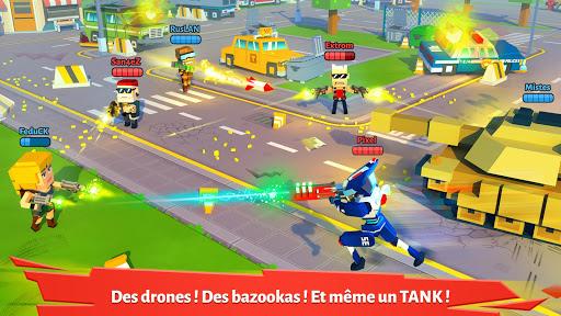 Pixel Arena Online: JcJ jeu de tireur & batailles fond d'écran 1